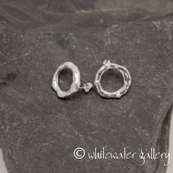Marsha Drew, Rockpool Halo Stud Earrings