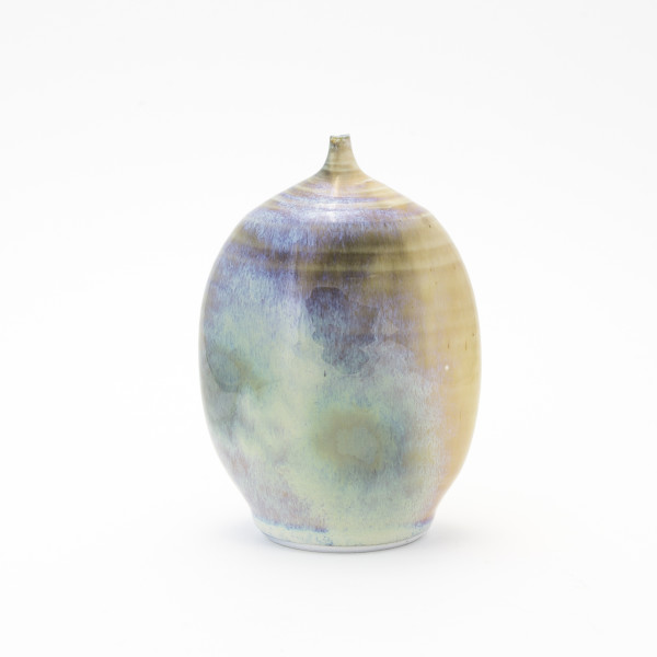 Hugh West, Fine Glaze Bottle Vase, 2018