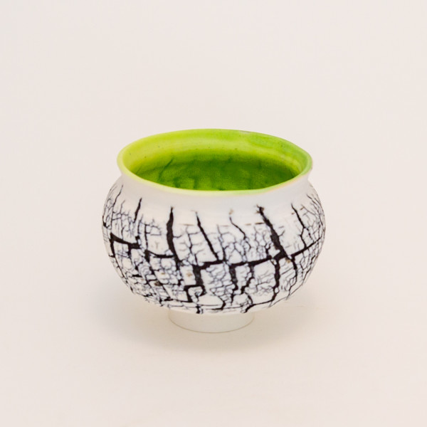 Hugh West, Small Crackled Bowl