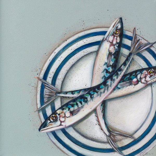 Caroline Cleave, Fish on a Plate