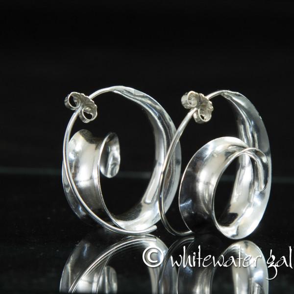 Marsha Drew, Spiral Wave Earrings