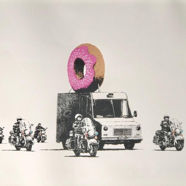Banksy - Donuts (strawberry)