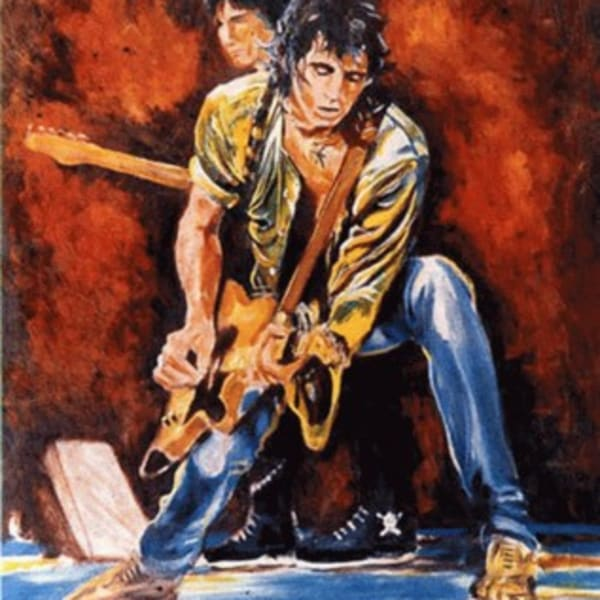 Ronnie Wood - Keith and Ronnie On Stage