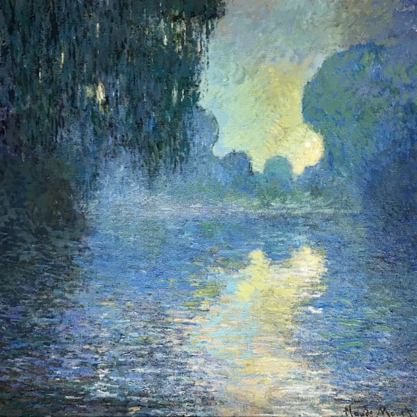 John Myatt - Morning On The Seine 1897 - Original