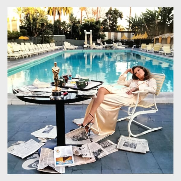 Terry O'Neill - Faye Dunaway, 1977 - LIGHT BOX