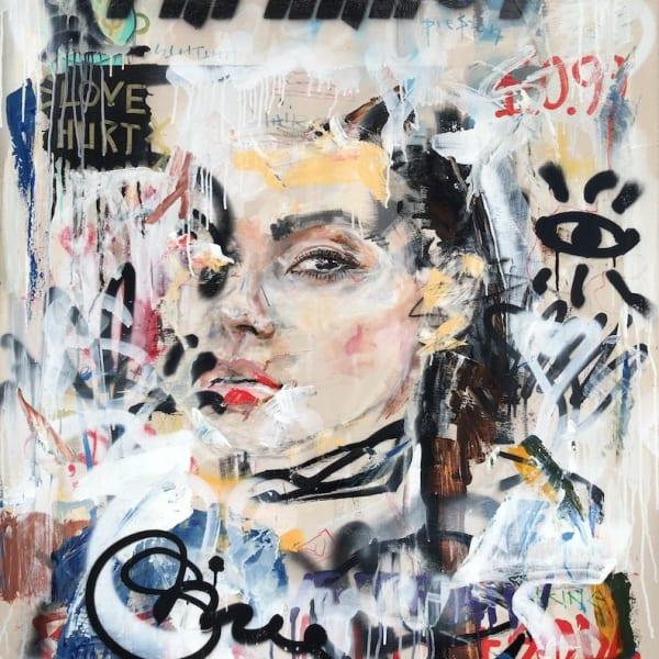 Preston Paperboy - Love Hurt$ - Original artwork