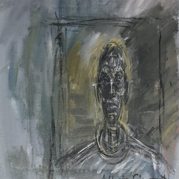 John Myatt - Bust portrait Diego Giacometti - original