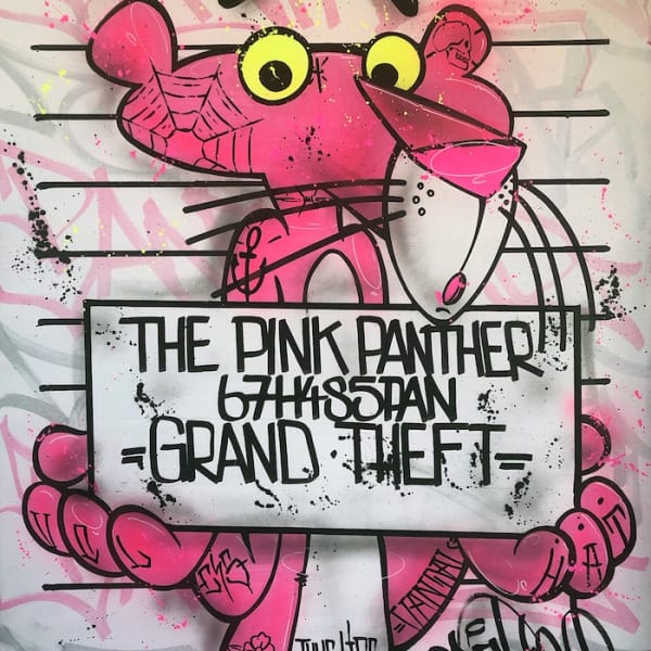 Opake One - The Pink Panther Mugshot