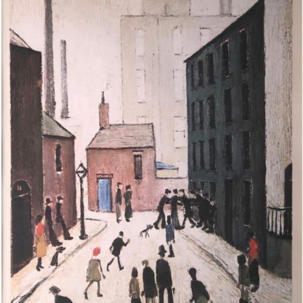 LS Lowry - Industrial Scene