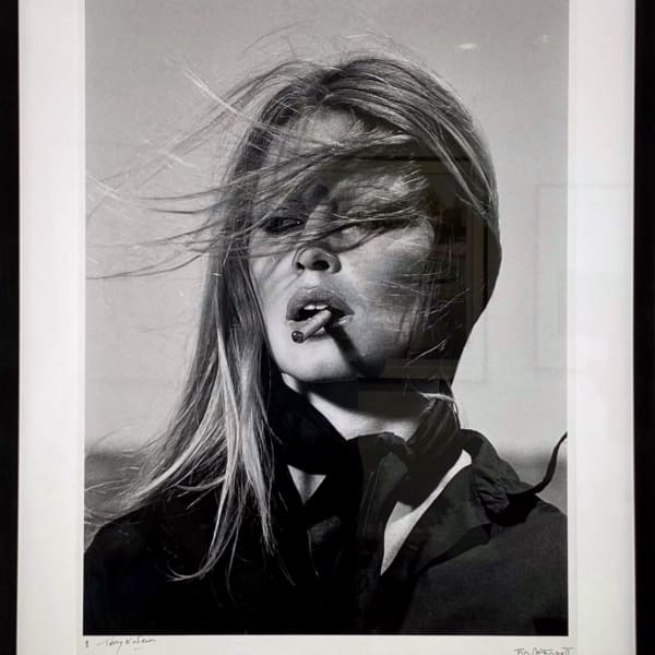 Terry O'Neill - Brigitte Bardot - co-signed print