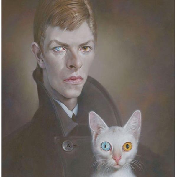 Sebastian Krüger - Young man with cat