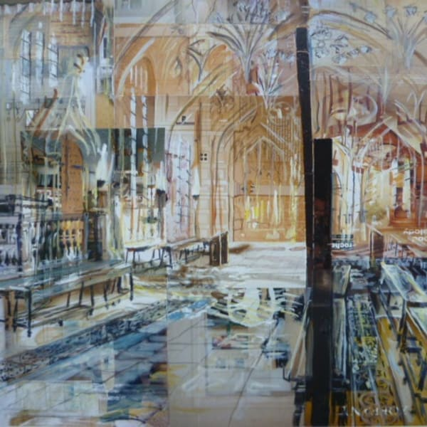 Alison Pullen - Divinity School, Bodleian Library, 2018