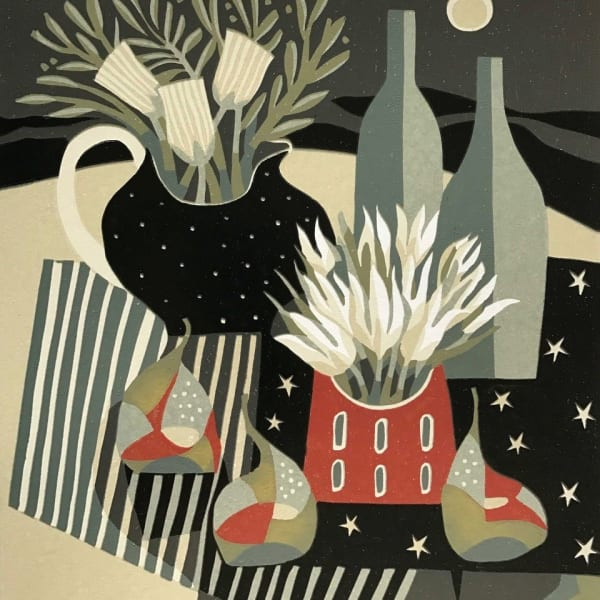 Jane Walker - Bottles and Pears, 2018