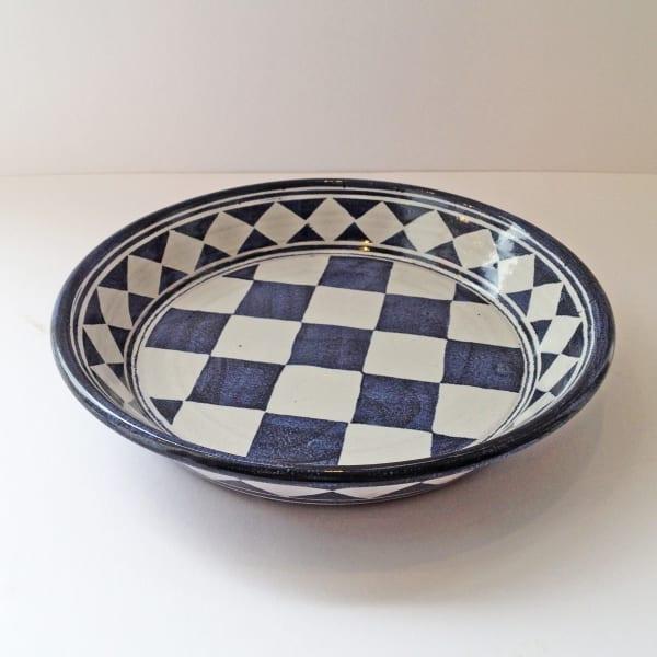 Tydd Pottery - Platter - Small Checkerboard, 2019
