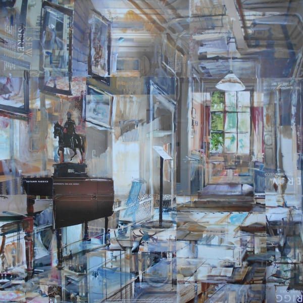 Alison Pullen - Osterley Park House, Corridor, 2019