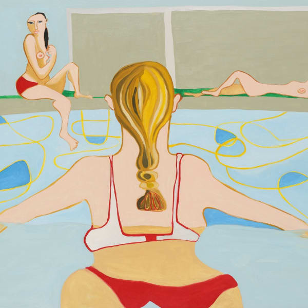 Henrietta Dubrey - Swimming Pool , 2020