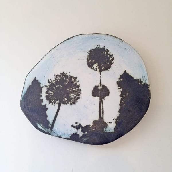 Kit Anderson - Alliums Wall Plaque, 2019