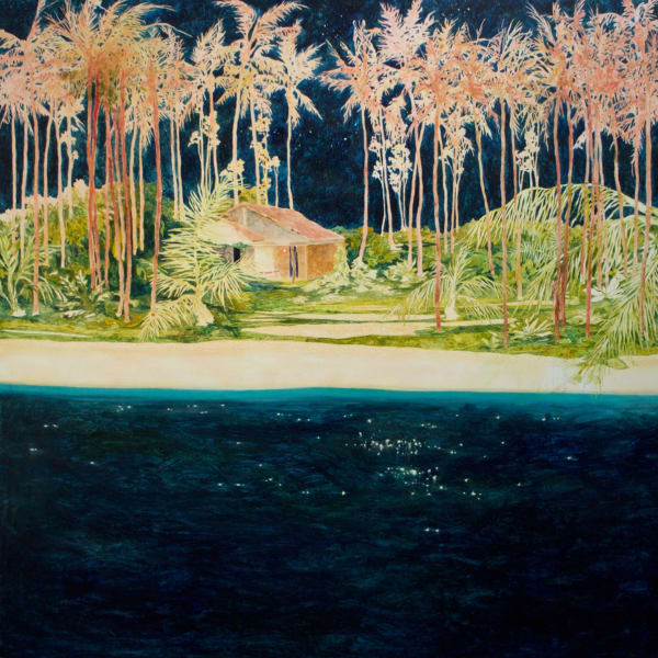 Daniel Ablitt - Red Palms ( Warm Night), 2020