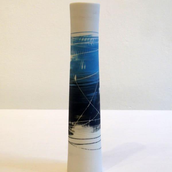 Ali Tomlin - Cylinder Vase - Blue Grey, 2018