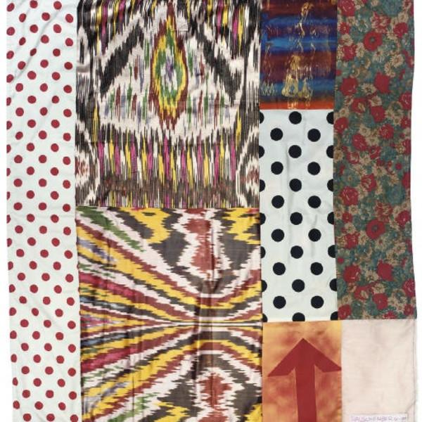 Robert Rauschenberg - Samarkand stitches II