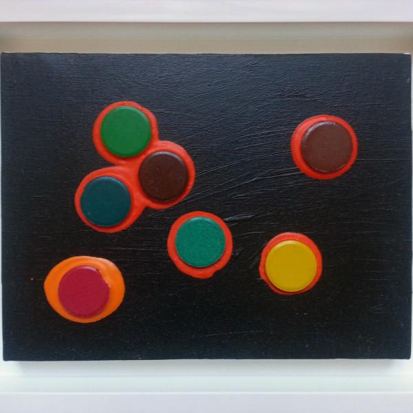 Massimo Kaufmann - Stolen rainbow (black), 2013