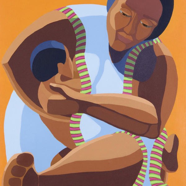Nirit Takele - Mother with a child, 2018