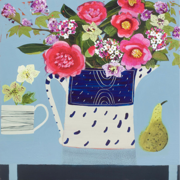 Emma Dunbar - Camellias from Fiona's Garden