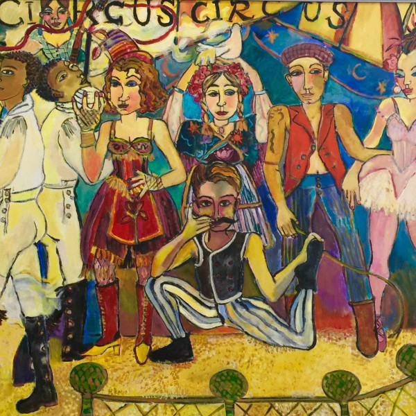 Anne Whyatt - The Circus Troupe