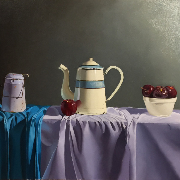 Robert Walker - Striped Coffee Pot