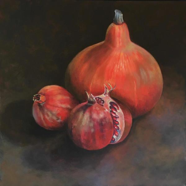 Joyce Pinch - Study In Red