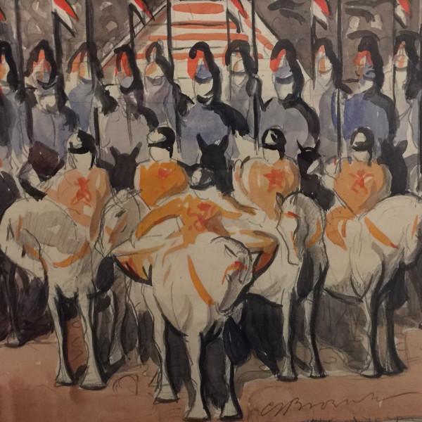 C.S. Brownlow - Horse Guards II