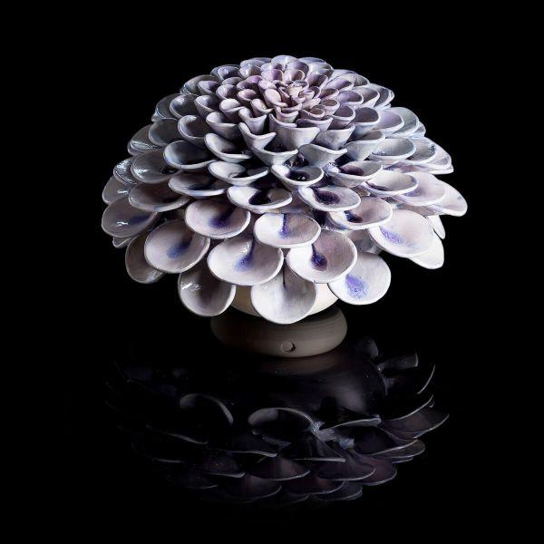Frances Doherty - Medium Lilac Glass Pom Pom