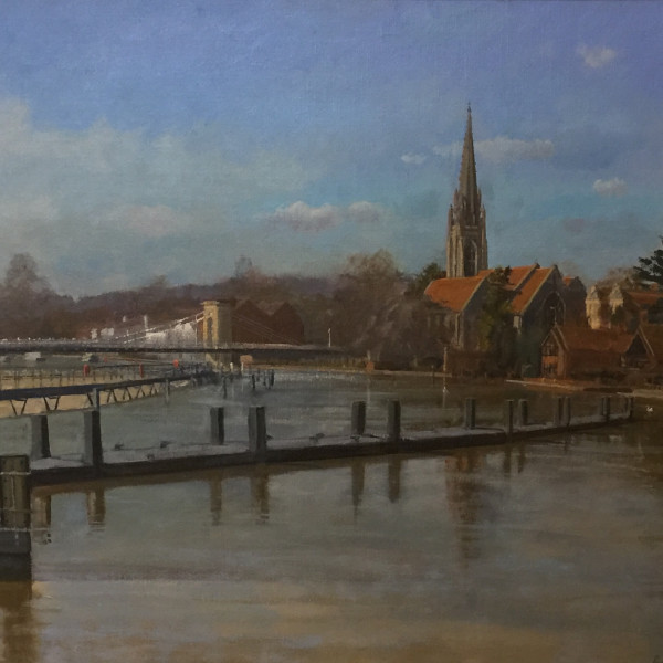 Roy Connelly - High Thames on Marlow