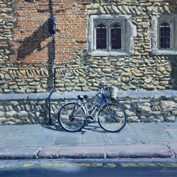 Ben Hughes - Bicycle in Trinity Lane, Cambridge