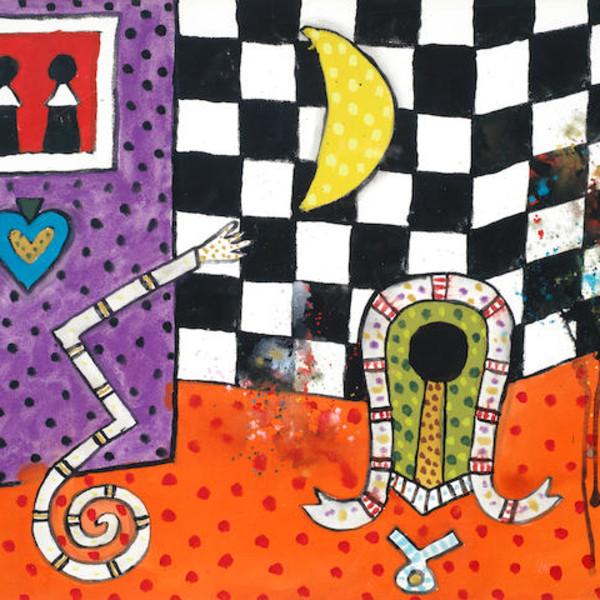 Alan Davie RA - Witch Wall No.3