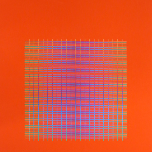 Julia Atkinson - Interchange - Series 13 - Vermillion, 1977