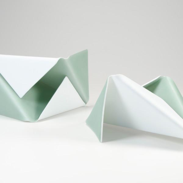 Karen Mahardy - Folded 3a and 3b, 2012