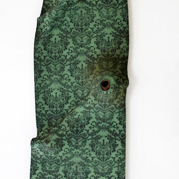 Ligia Bouton - Green Wallpaper #1, 2016