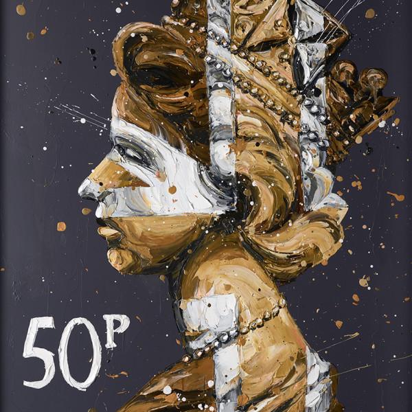 Paul Oz - 50k Queen (canvas)