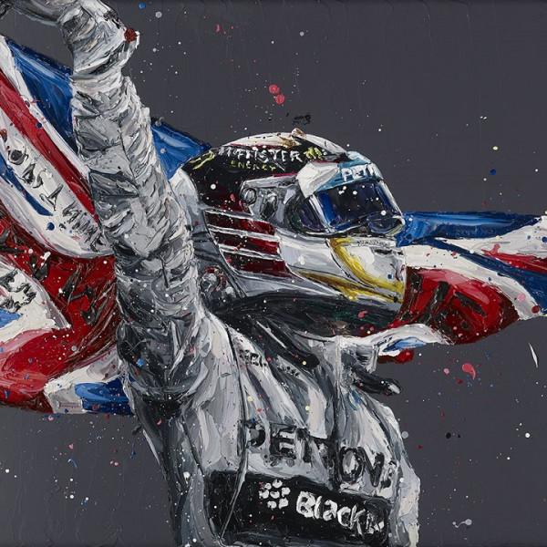 Paul Oz - Lewis Hamilton / Union Lewis (canvas)