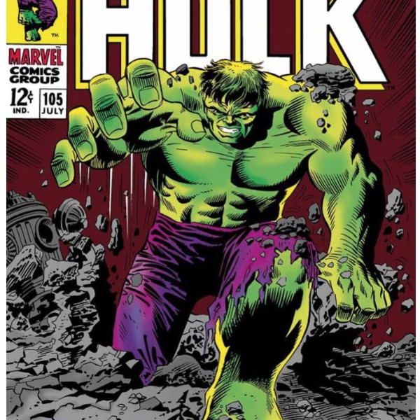 Stan Lee - Marvel - The Incredible Hulk #105 - This Monster Unleashed! (canvas)