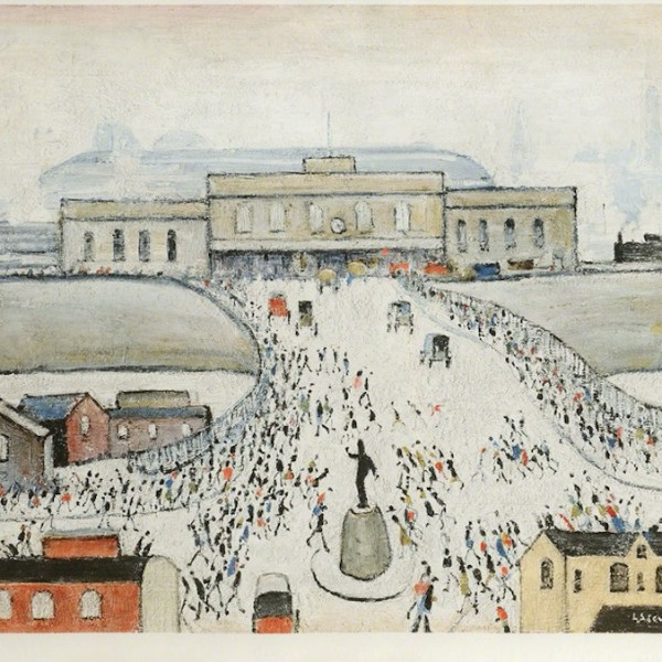 LS Lowry - Station Approach