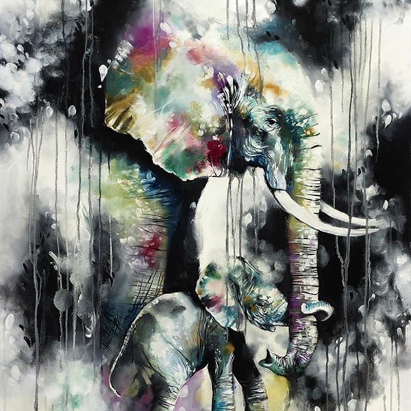 Katy Jade Dobson - Hold On (canvas)