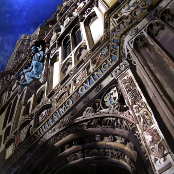 Ken Orton - Canterbury Cathedral - Original