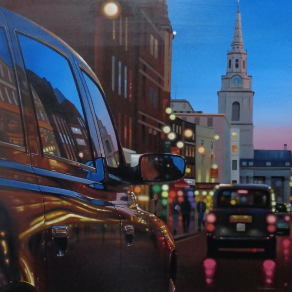 Neil Dawson - London Dusk Reflections