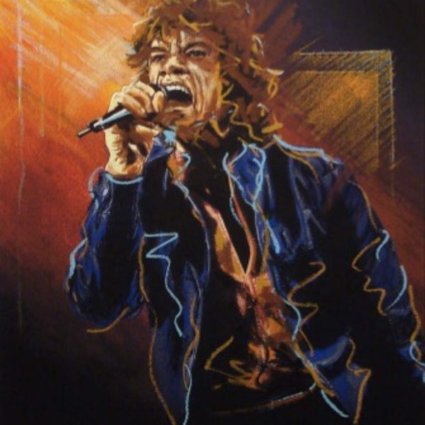 Ronnie Wood - Study for Mick II