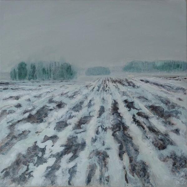 Herman Lohe - Wintery spring in Uppland (Vårvinter i Uppland), 2021