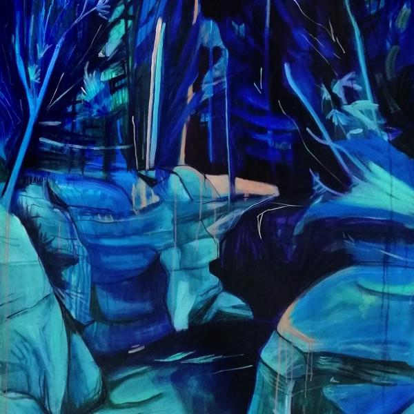Lucy Smallbone - Blue Vista, 2018