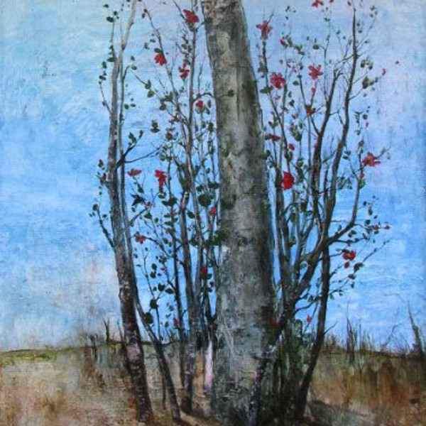 Miles Cleveland Goodwin - Flowering Quince, 2017