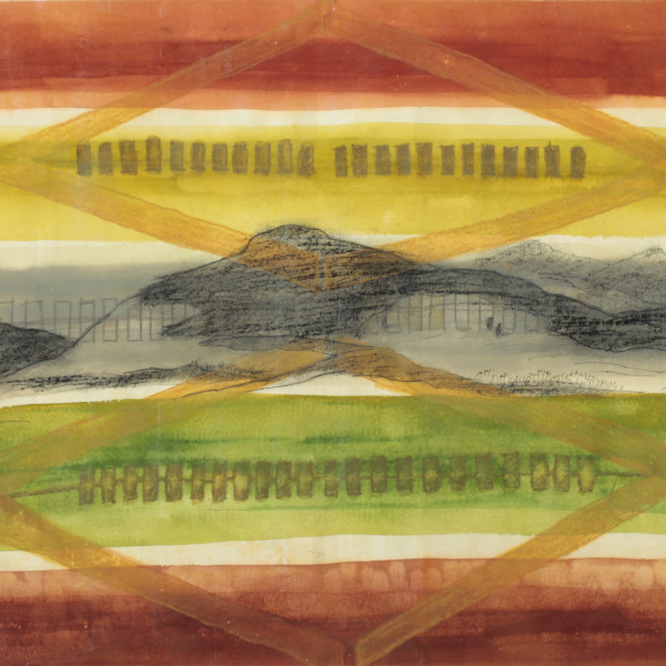 Kay WalkingStick - Big Hole II, 2002